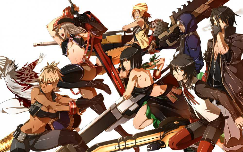 God Eater Resurrection ����� ����� ����� � ����